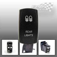 LUCE Posteriore Interruttore ON / OFF LED BLU LOGO compresi DASH PANEL MOUNT 4X4 BARCA