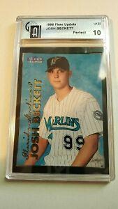 1999 josh beckettfleer tradition update Super prospect card Perfect 10 GAI!!!!!