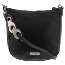 Jessica Simpson Womens Valencia Black Shoulder Handbag Purse Medium BHFO 3276