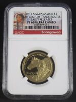 2012 S Sacagawea 17th Century Trade Routes NGC PF69 Early Releases Ultra Cameo*