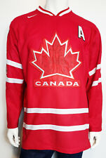 Men 2010 Nike Bauer Team Canada Sidney Crosby Red Olympic Jersey sz Large