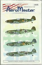 Aeromaster Decals 48-492 Messerschmitt Bf109K-4 decals in 1:48 Scale