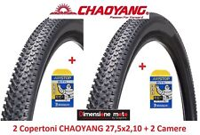 "2 Copertoni C-YANG 27,5x2,10 + 2 Camere Michelin x Bici 27,5"" MTB Mountain Bike"