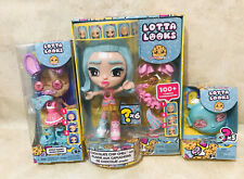 Lotta Looks Cookie Swirl Chocolate Chip Chill Doll with Donut outfit & Key Chain