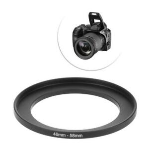 46mm To 58mm Metal Step Up Rings Lens Adapter Filter Camera Tool Accessories New