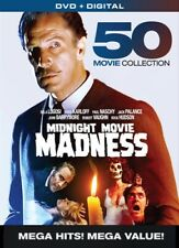 MIDNIGHT MOVIE MADNESS 50 MOVIE COLLECTION New Sealed 10 DVD Set