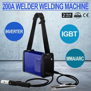 Poste à Souder à l'Arc MMA Soudure électrode Soudage Inverter IGBT 200A IGBT