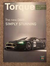 Aston Martin Works Torque Customer Magazine January 2005 18th Vanquish S DBR9