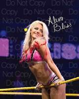 Alexa Bliss sexy hot signed 8X10 inch print photo picture autograph poster RP