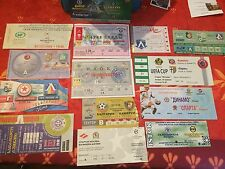 Football Ticket - UEFA - Lot Russie et autres - UEFA CUP