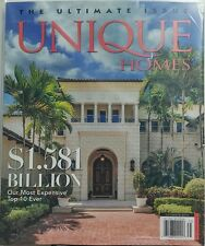 Unique Homes Ultimate Issue 2017 Our Most Expensive Top 10 Ever FREE SHIPPING sb