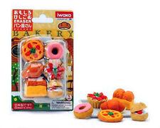 Iwako Japanese Erasers Bakery Bliser Set, Japan import