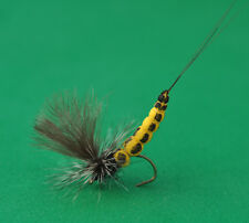 Four MAYFLY  ex.body foam , high-quality custom fly fishing flies