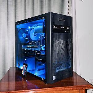 NEW Deepcool i5-10400F Glass Gaming PC Computer 240 SSD,8GB DDR4 RAM,2GB GT 1030