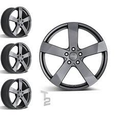 4x 15 Zoll Alufelgen für Chevrolet Spark / Dezent TD graphite (B-0801028)