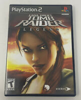 Lara Croft: Tomb Raider -- Legend (Sony PlayStation 2, 2006) Complete Tested PS2