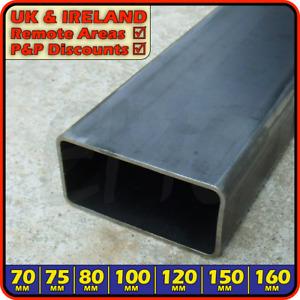 Mild Steel Rectangular Box Section║70mm-160mm║Hollow Rectangle ERW tubing