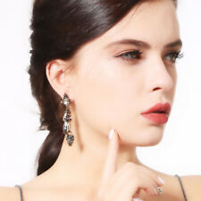 Earrings For Women Costume Jewelry GiftS Charm Alloy Hand Skull Rhinestone Drop