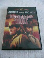 """DVD """"La Bataille de la Vallée du Diable"""" James Garner - Comme neuf"""