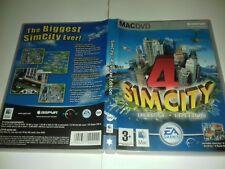 SIM CITY 4 DELUXE APPLE MAC DVD  MAC Game 029-405