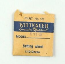 NEW OLD STOCK WITTNAUER C11G SETTING WHEEL WATCH PART #22