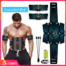 A-TION 8PCS Abs Stimulator Abdominal Muscle EMS Hip Trainer Toning Belt Waist