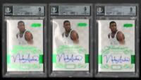 3ct 2013 -14 PANINI FLAWLESS Autograph Emerald #/5 NICK ANDERSON #47 BGS 9 MINT