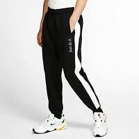 Men's Nike NSW Sportswear JDI Heavyweight Pants Black/White BV5535-010 Size L