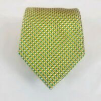 The Andover Shop Men's 100% Silk Basketweave Neck Tie Multicolor 58L 3.5W