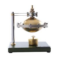 Mini UFO Spin Suspension Hot Air Steam Engine Model DIY Kit Metal Education Toys