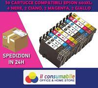 10 Cartucce compatibili 603xl EPSON WF-2810 XP4100 WF-2815 XP2100 WF-2850 XP3100