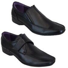 Hombre Italiano Formal Zapatos sin Cordones Vestido Trabajo Oficina Boda Moda De