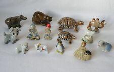 More details for 14 wade animals, pixies, whoppas, tortoises, camel, polar bear, miss muffett etc