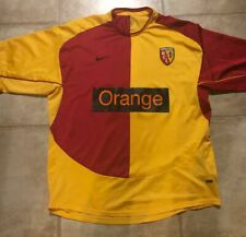 AUTHENTIC NIKE RC LENS SOCCER FOOTBALL JERSEY SHIRT XL