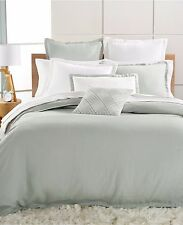NEW Hotel Collection Linen Spruce Queen  Duvet Cover