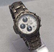 New Titanium Alarm Chronograph analog date men's watch SW355G