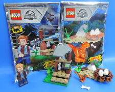 LEGO® Jurassic World Limited Edition Baby Raptor+ Nest +Owen+Beobachtungsposten