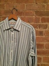 Turnbull & Asser Striped French Cuff Shirt 16.5/42 Fitted