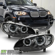 2011-2014 BMW X6 E71 HID/Xenon w/AFS Projector Headlights Headlamps Left+Right