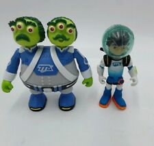 """Disney Tomy Watson and Crick And Miles from Tomorrowland Figures 3.5""""and 3"""""""