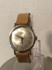 Vintage 21 Jewels Automatic Swiss Watch Culligan Service Award LQQK!