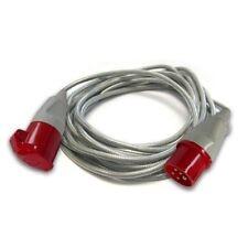 2 4 6 gang Extension arrière plomb BLANC 13 A Multi Plug Câble d/'alimentation Socket 2 M 5 m