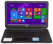 "HP 15.6"" AMD Quad-Core 2.40 GHz 4GB RAM 500GB HD DVD RW Win 8.1 15-g035 R"