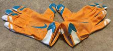 Nike Vapor Knit Miami Dolphins Football Receiver Gloves (Pgf397-171) Size: 3Xl