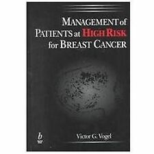 Management of Patients at High Risk for Breast Cancer, , Very Good Book