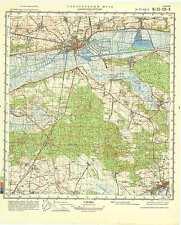 Russian Soviet Military Topographic Map – NAKLO NAD NOTECIA (Poland), 1:50 000