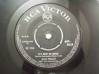 "ELVIS PRESLEY 447 0628  BLACK RARE SINGLE 7"" 45 RPM INDIA INDIAN VG-"