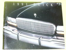 1991 Buick Automobile Sales Brochure SEE!
