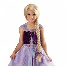Rapunzel Wig Kids Princess Halloween Costume Fancy Dress