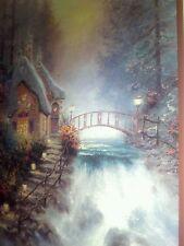 Sweetheart Cottage II Print by Thomas Kinkade in 11 x14 Matte
